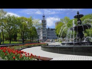 Québec, la capitale nationale de la province : ville hôte